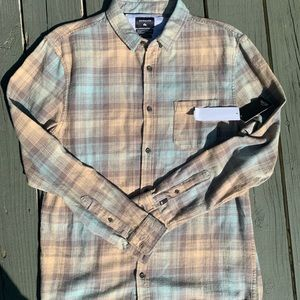 NWT Quiksilver flannel
